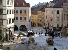 "Dreharbeiten zum Film ""Goethe!"" in Görlitz 2009"