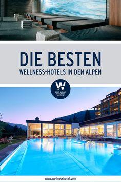 Einen unvergesslichen Wellness-Urlaub zu Zweit versprechen die traumhaften Best Alpine Wellness Hotels. Sie warten mit einem großen Angebot an Beauty- und Relaxprogrammen, Sport- und Freizeitaktivitäten sowie gekrönten Küchen auf Dich. Also los: gleich Deinen Sommerurlaub planen! Wellness Hotel Österreich   Wellness Hotel Italien   Spa Wellness Spa, Places, Outdoor Decor, Holiday, Travel, Beauty, Vacation Resorts, Summer Vacations, Family Photos