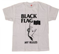 Black Flag - My Rules T-Shirt   SST Superstore