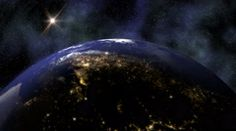 The Planet Earth rotates in space from day into night - Earth 1015 HD, 4K by alunablue http://www.pond5.com/stock-footage/58742378/planet-earth-rotates-space-day-night-earth-1015-hd-4k.html