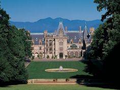 With over 250 rooms, the Biltmore Estate is one of Asheville's most popular attractions and the historic home of George W. Vanderbilt. >> http://www.hgtv.com/design/hgtv-urban-oasis/2015/around-the-area-at-hgtv-urban-oasis-2015-pictures?soc=pinterest