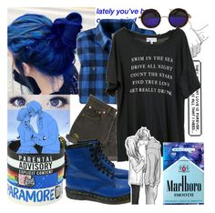 """""""They say that love is forever, your forever is all that I need"""" by natsuko-yuuki ❤ liked on Polyvore featuring moda, Woolrich, Levi's, Wildfox, ELSE ve Dr. Martens"""