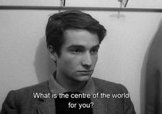 """Jean-Pierre Léaud (Paul) """"Masculin Feminin"""" Jean Luc Godard (1966)"""