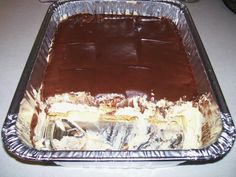 No bake Chocolate Eclair Cake Low Carb Desserts, No Bake Desserts, Just Desserts, Delicious Desserts, Dessert Recipes, Yummy Food, French Desserts, Dinner Recipes, Food Cakes