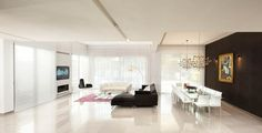 living room - modern - living room - other metro - Elad Gonen & Zeev Beech House Design, Room, Room Design, Interior, Floor Design, Home, Living Room White, Living Room Modern, Dream Dining Room