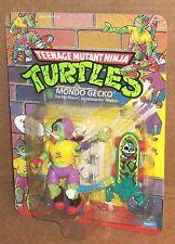 1990 TEENAGE MUTANT NINJA TURTLES TMNT MONDO GECKO  MOC PLAYMATES Tmnt Characters, Classic Series, 30th Anniversary, Teenage Mutant Ninja Turtles, Science Fiction, Action Figures, Toys, Vintage, Turtles