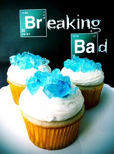 breaking bad cupcakes. (8/11/13 is here!!)