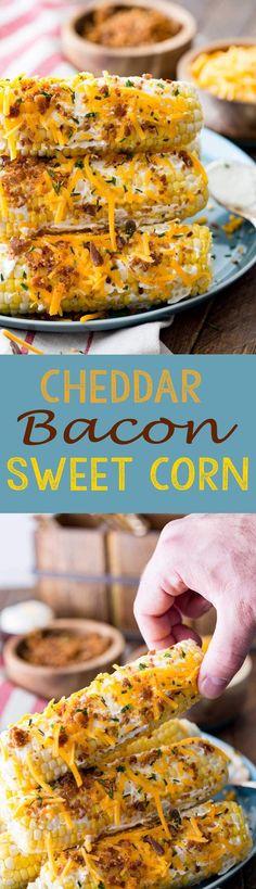 Cheddar Bacon Florida Sweet Corn is seriously amazing. #IC #ad #FreshFromFlorida - Eazy Peazy Mealz
