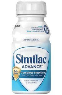 Similac Premade infant formula