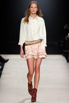 Isabel Marant Fall 2012 Ready-to-Wear Fashion Show - Arizona Muse