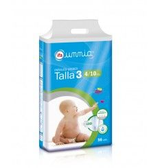 Pañales Tumbado 4-10 (T3) 56 unds