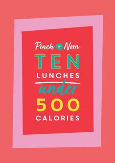 We've rounded up our top ten lunches that we guarantee will taste delicious and keep you full until dinner, all under 500 calories!