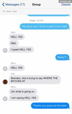 OMG 😅😅 what she changed the dad's texts to r hilarious Lol, Life Hacks, Gumball, Funny Pins, Funny Stuff, Stupid Stuff, Funny Text Messages, Laughing So Hard, Pranks