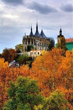 Saint Barbara's Cathedral, Kutná Hora, Czech Republic