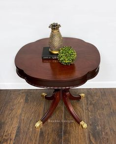 Georgian Cherry Parlor Table | General Finishes Design Center