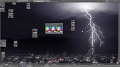 How to Create a Lightning Storm in Blender