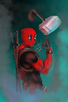 #Deadpool #Fan #Art. (Deadpool) By: Davidson Gomes. (THE * 5 * STÅR * ÅWARD * OF: * AW YEAH, IT'S MAJOR ÅWESOMENESS!!!™) [THANK U 4 PINNING!!!<·><]<©>ÅÅÅ+(OB4E)