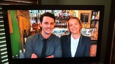 """Matthew Goode and Teresa Palmer -- playing Matthew de Clermont and Diana Bishop in the tv adaptation of """"A Discovery of Witches"""", a novel by Deborah Harkness. This snap is from their appearance at the 2017 All Souls Con on 9/23/17 in New Orleans."""
