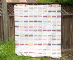 Macaron Top, Play Crafts - this is a lovely example of a really simple quilt