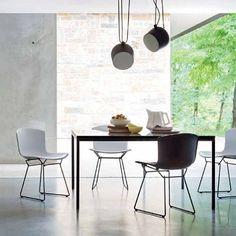 Cadeiras Coleção Bertoia Plastic chair da Knoll International no catálogo de produtos da QuartoSala - Home Culture #knoll #cadeiras #bertoia #chairs #plastic #news #interiors #modern #lojas #projetos #interiors #lisbon #lisbonne #inspiration #instadesign #quartosala