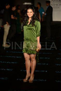 Kajol was spotted at Anushka Khanna's show at Lakme Fashion Week. The show was also attended by Manish Malhotra, Ashiesh Shah, Shabana Azmi, Gaurav a. Indian Actress Hot Pics, Indian Bollywood Actress, Beautiful Bollywood Actress, Most Beautiful Indian Actress, Beautiful Actresses, Bollywood Bikini, Bollywood Girls, Bollywood Fashion, Bollywood Actors