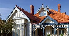 Browse the available colours and find inspiration for your home and its new tiled roof. House Paint Exterior, Victorian Homes, House Painting, Old Houses, Home Interior Design, Color Inspiration, Mansions, Terracotta Tile, Marseille