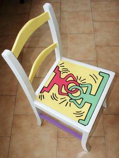 Foto di Vivastreet.it Sedia design Haring Chair, My Love, Furniture, Design, Products, Home Decor, Decoration Home, Room Decor