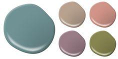 2015 Spring Home Decor Paint Colours.
