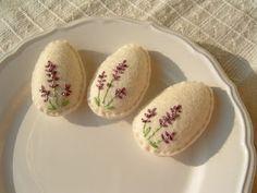 easter - felt - lavender