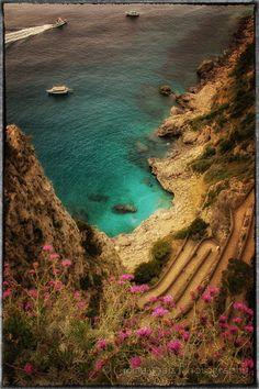 View from Capri,Italy