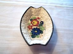 Made In Japan Hand Painted Small Floral Dish by LakesideHaven, $6.00