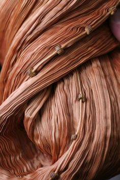 Pleated Silk - dimensional fabric textures // close up dress detail, Mariano Fortuny