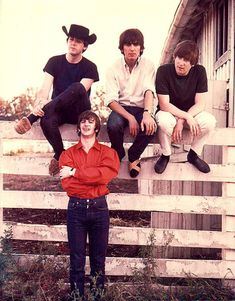 Paul McCartney, George Harrison, John Lennon, and Richard Starkey