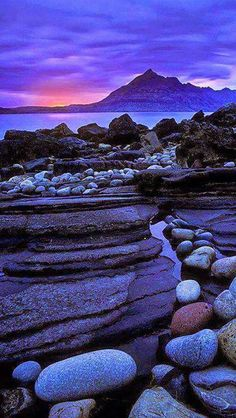 Skye Island sunset ~ Scotland