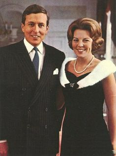 Princess Beatrix and Claus von Amsberg