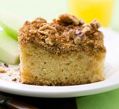 Overnight Ricotta Coffee Cake  From Better Homes and Gardens, ideas and improvement projects for your home and garden plus recipes and entertaining ideas.