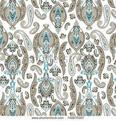 paisley damask pattern Vintage Design, Damask, Paisley, Pattern, Image, Damascus, Damasks, Model, Patterns