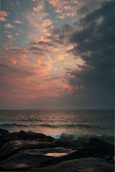 Céu de ficção como os nossos sonhos????? Céu real como nossas realizações.NUVENS LILÁS