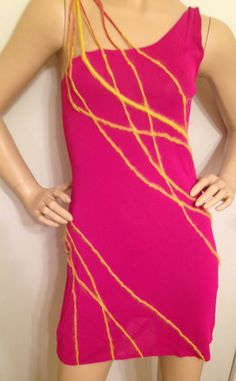 Gianni Versace iconic yarn dress #Versace check out seller Celebstyle2011