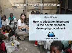 There is now a string of low-cost private schools opening in Kenya - but are they actually equalizing education or creating a wider rift? Learn more using our free teachable story: www.listenedition.com #kenya