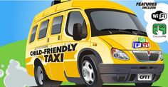 Child-friendly taxi service launches in Ireland