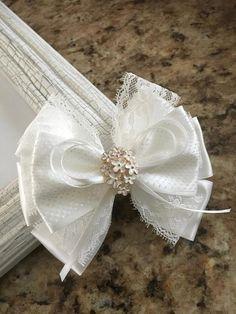 Off-White hair bow,hair bows,hair clips,girl bows,bow hair clip,hair bow clips,girl clips,woman clip