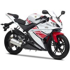 Until the end of July we have 0% finance on  the Yamaha 125 and 50cc ranges.... including the lovely YZF-R125 WGP 50th Anniversary.
