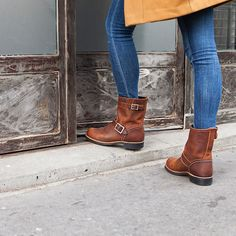 Red Wing Short Engineer -  Copper Rough and Tough Leather