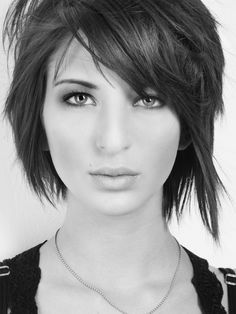 Love the cut. Cute and edgy