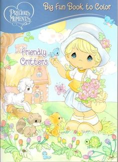 Precious Moments Big Fun Book to Color ~ Friendly Critters (96 Pages)