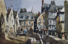 John Hoar, water color