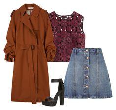 """Outfit #567"" by naleland on Polyvore featuring moda, Alberta Ferretti, Anita & Green i Marni"