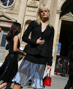 Hanne Gaby Odiele in Christian Dior spring 2016