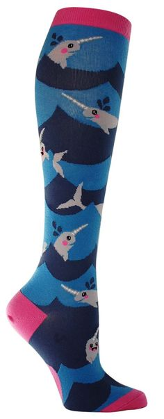 Lil' Narwhal Knee High Socks